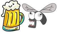 Piège à mouche et bière
